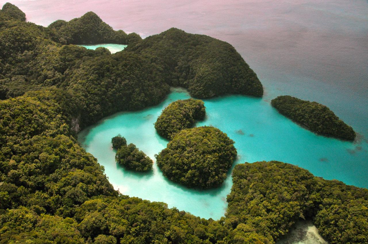 Rock Islands Southern Lagoon