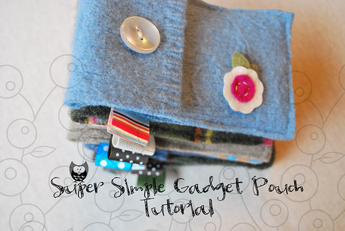 Super Simple Gadget Puch Tutorial