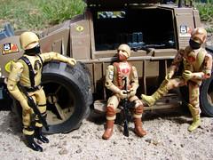 Desert discussion. (cradea2) Tags: trooper cobra desert tan joe scorpion custom gi