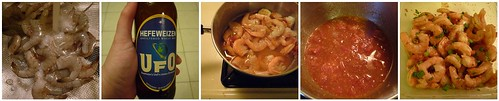 Recipe Project #2:  Susanna Foo's Cold Beer Shrimp