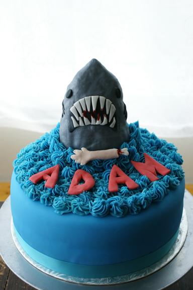 Dun Dun Dun Dun Jaws Shark Cake Coco Cake Land