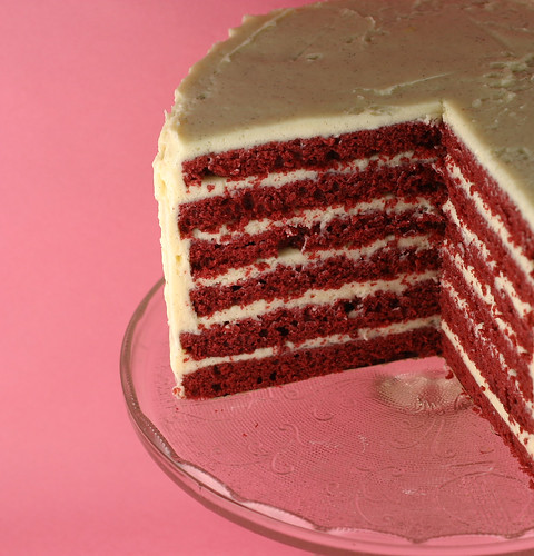 waldorf red cake