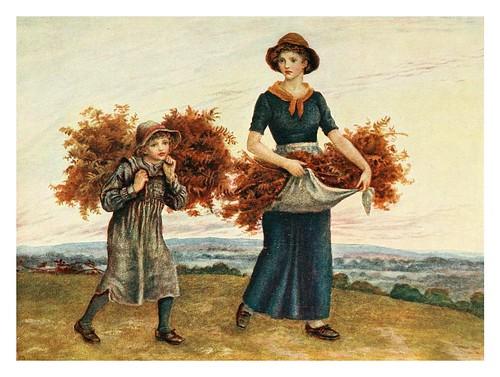 020- Recolectando helechos-Kate Greenaway 1905- Marion Spielmann y George Layard