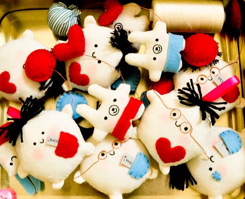 jan 2010 sewn plushies