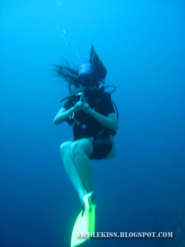 ninja nicole underwater