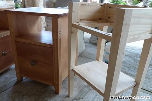 木工 床邊櫃-17