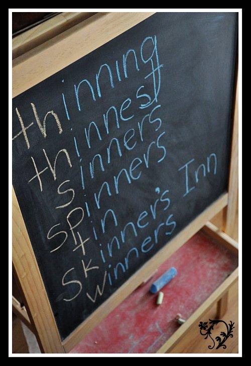 Spelling Lessons