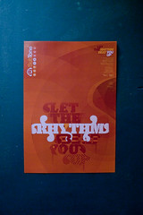 SubTone: LET THE RHYTHM BEAT YOU UP (Posters
