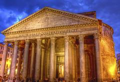 """""""M. AGRIPPA L. F. COS. TERTIUM. FECIT"""" Pantheon-Rome, Italy"""