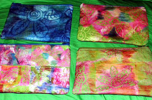 zipper pouches all four