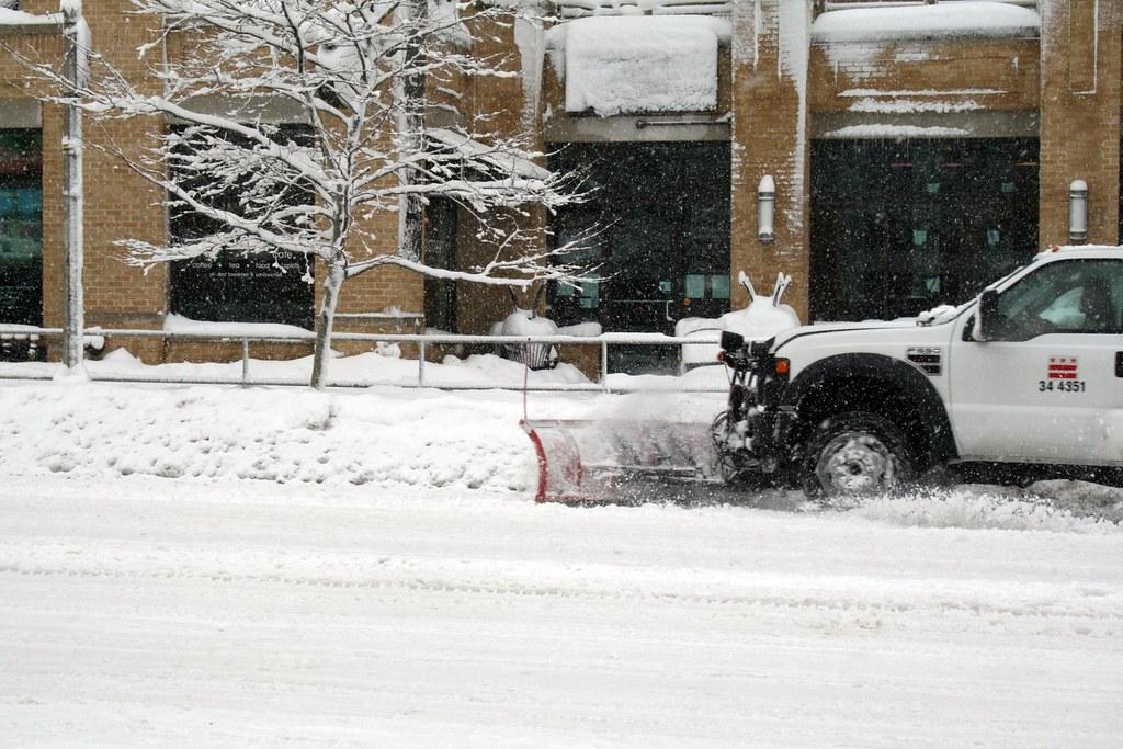 Plowing U Street