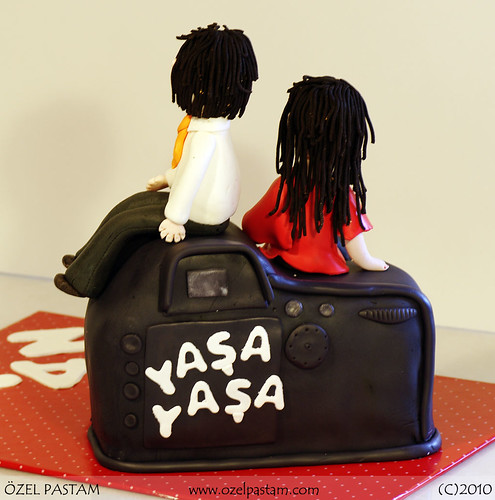 Fotograf Makinesi Pasta / Nikon Camera Cake