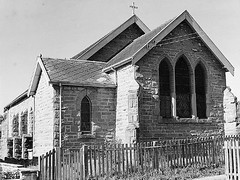 St Luke's Church of England, Wallsend, NSW, Australia (Cultural Collections, University of Newcastle) Tags: church australia nsw wallsend hunterregion 61121 stlukeschurchofengland