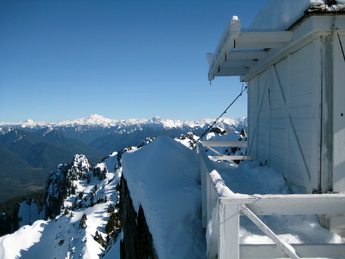 Pilchuck Lookout and Glacier Peak