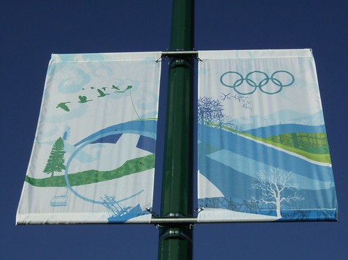 2010 VANCOUVER WINTER OLYMPICS | THE LOOK OF THE CITY :: CAMBIE HERITAGE BOULEVARD BANNERS 14