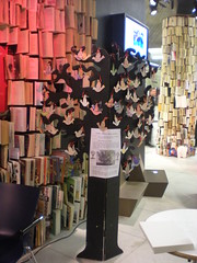 United Underground event, Queen Elizabeth Hall, Southbank, London Feb 2010 (craftivist collective) Tags: london peace sudan southbank conflict badges doves craftivism wishtree britishunderground miniprotestbanner ctrlaltshift unitedunderground craftivistcollective