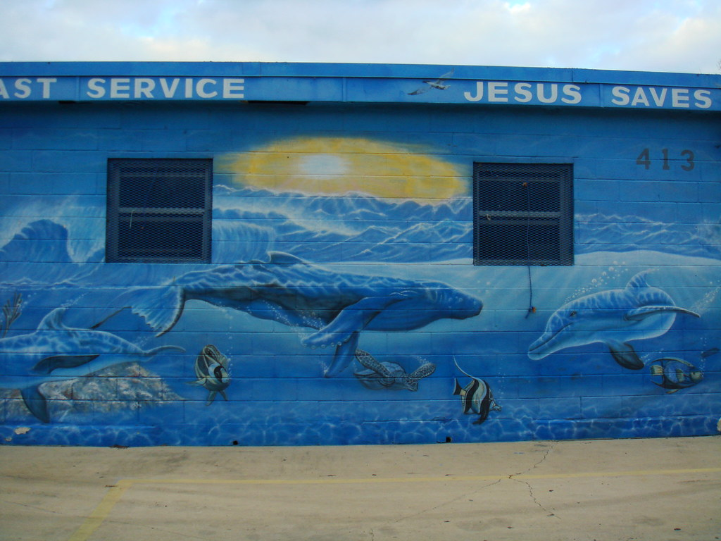 Jesus Saves with Saint Service