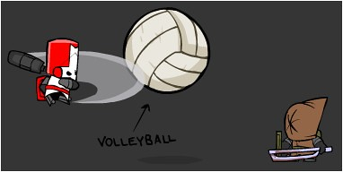 Castle Crashers - Volleyball Image