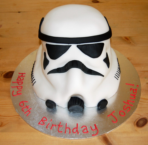 A real star of a cake – the Storm Trooper Cake from Star Wars! From £40.
