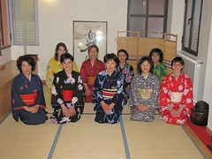 Classe di danza giapponese Nihon Buyo 2010