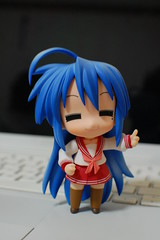 Nendoroid Izumi Konata ( ) (Chi (in Oz)) Tags: gsc izumi luckystar  konata goodsmile nendoroid    ver