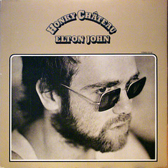 Elton (epiclectic) Tags: music men art sunglasses vintage beard faces album vinyl shades headshot retro moustache collection cover eltonjohn lp heads record 1972 sleeve thefuturessobrightigottawearshades epiclectic tfsbigws