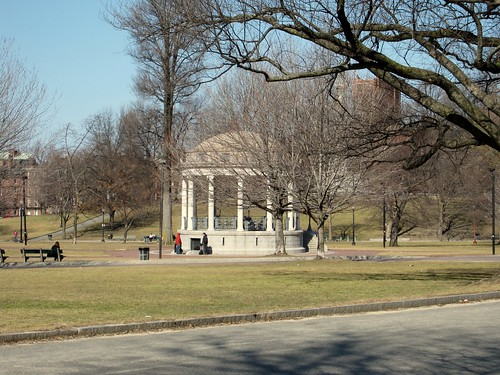parkman bandstand, boston common