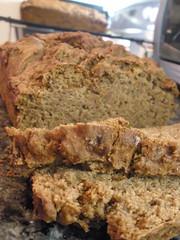 Sugar Free Vegan Banana Bread (Gina.Rwell) Tags: bread recipe dessert vegan stevia veganomicon