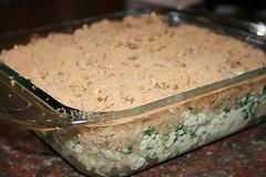 spinach-tofu ziti
