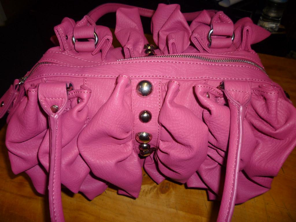 Pink forever new bag
