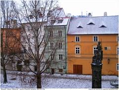 Praha / Prague /Prag, Mala Strana, Kampa - Knight Bruncvik Statue (vratsab) Tags: winter europe czech prague prag praha praga zima bohemia kampa centraleurope malastrana evropa mitteleuropa ceska cesko 5photosaday brunsvik