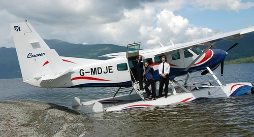 Loch Lomond Seaplane at home at Culag on the loch