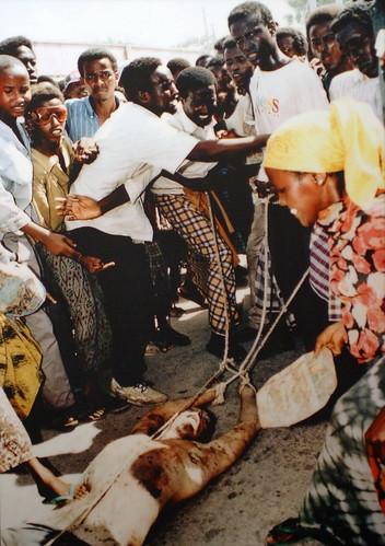 Dead U.S. Soldier in Mogadishu