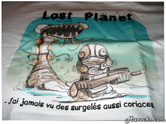 T-Shirt - LaTong - Lost Planet - 03