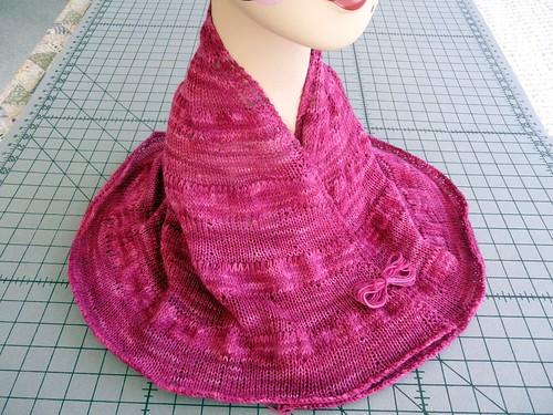 Citron shawl complete