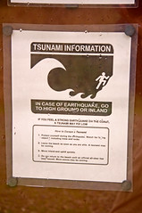 West Coast Tsunami Warning Poster - Gold Bluffs Beach, Humboldt County, California (kmanohar) Tags: california northerncalifornia worldheritagesite westcoast humboldtcounty pacificcoast californiacoast redwoodnationalpark platetectonics northerncaliforniacoast temperaterainforest prairiecreekstatepark prairiecreek redwoodpark prairiecreekredwoods redwoodcoast northamericanplate humboldtcountyca humboldtcountycalifornia prairiecreekredwoodsstatepark redwoodsstatepark pacificrainforest klamathcalifornia subductionzone juandefucaplate tsunamizone prairiecreekpark internationalbiospherereserve redwoodpreserve cascadiasubductionzone pacifictsunami californiarainforest northwestrainforest cascadiazone tsunamidangerzone juandefucaoceanicplate megathrustearthquakes redwoodreserve cascadiaearthquake cascadiamegathrustzone cascadiacoast californiatsunami westcoasttsunami
