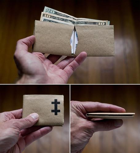 paper wallet kraftpaper paperwallet totallykindofstupidbutwhatever