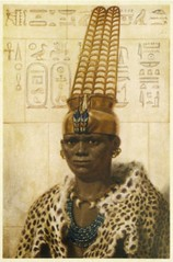 Nubian Pharaoh (cool-art) Tags: world africa black ancient king african crown past nubia nubian taharqa