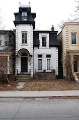 Historic photo from Saturday, March 20, 2010 - 31 Sussex Ave - Built ca. 1879 - on the City of Toronto heritage structures list in Huron Sussex
