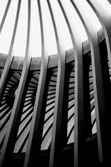 SFU  Rotunda Reflection (Kyle Bailey - Da Big Cheeze) Tags: bw inspiration color colour texture lines vancouver canon bc sfu angles professional example burnaby simonfraseruniversity burnabymountain inspire critique arthurerickson geoffreymassey kylebailey rookiephoto dabigcheeze wwwrookiephotocom