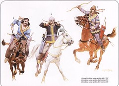 persian archers (cool-art) Tags: horses rome persian ancient iran roman military persia warriors wars archers iltaly parthia