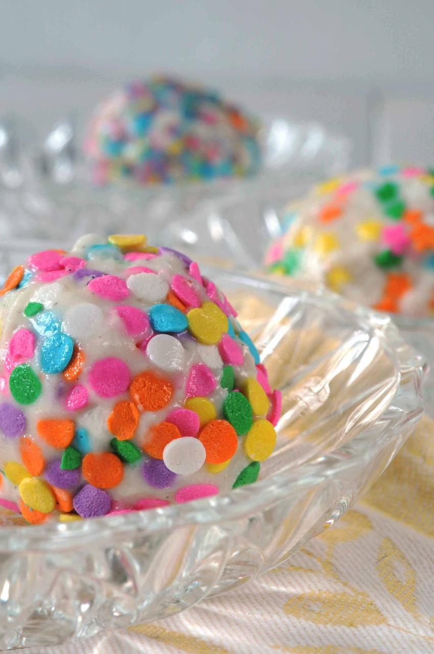 candy covered ice cream balls 2