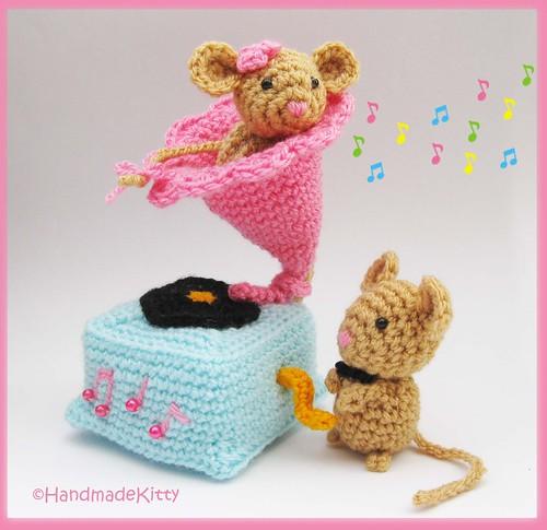 Free Onigiri Couple Amigurumi Crochet Pattern By Handmadekitty : Flickriver: Random photos from HandmadeKitty=^_^=