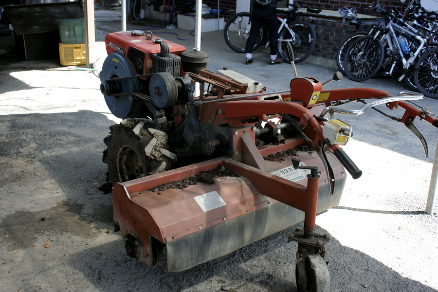 Paddy tractor