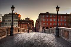 Ponte Sisto, Roma 01 (Ren Eriksen) Tags: italy rome roma canon italia rom beautifulphoto flickraward flickraward5 easterinrome