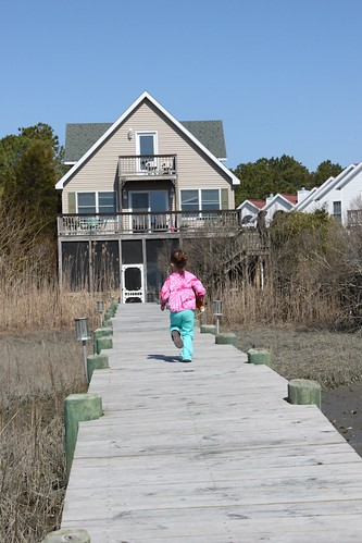bayfront house dock chincoteague island