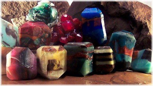 Soap Rocks Gemstone Soaps by soapsmith