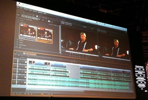 Avid's web-based editing demo