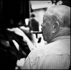 ON THE TURN (davies.thom) Tags: man film make streetphotography cigar nikonf3 whack whack4 whack5 whack7 whack2 whack3 whack6 selfwhack