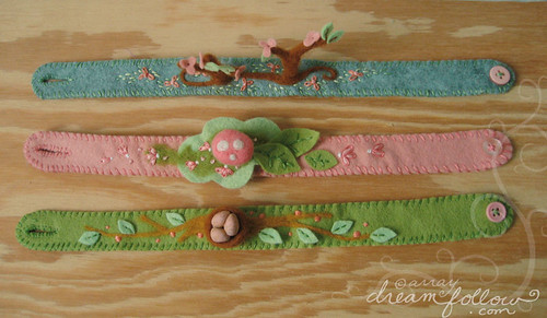 new woodland headbands